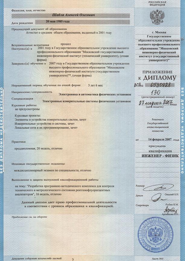Приложение к диплому Какой ручкой подписано Форум НИЯУ МИФИ Приложение к диплому Какой ручкой подписано