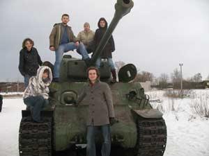 МИФИсты на защите Отечества. Танк