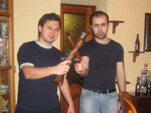 МИФИсты на защите Отечества. Пистолеты