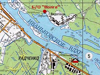 Волга из атласа