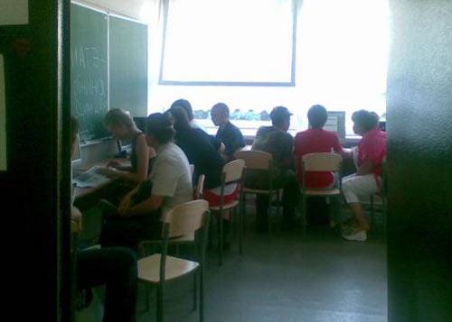 Приемная комиссия НИЯУ МИФИ: комната с интернетом