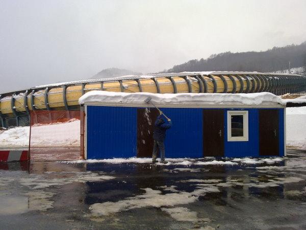 Контрольно-пропускной пункт для посетителей Олимпиады в Сочи
